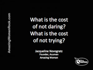 ... Novogratz on not trying #Quote #fear #courage #success #goals