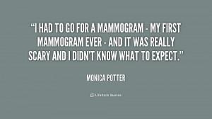 Mammogram Quotes