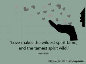 Wild Spirit Quotes The tamest spirit wild.