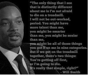 Posts related to Will Smith Treadmill Quotes