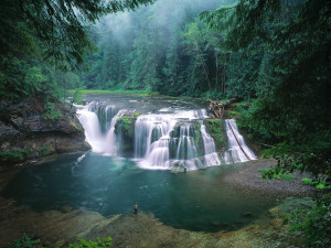 Lower Lewis River Falls Gifford Pinchot National Forest