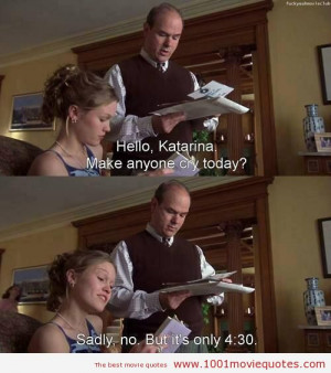 10 Things I Hate About You (1999) movie quote