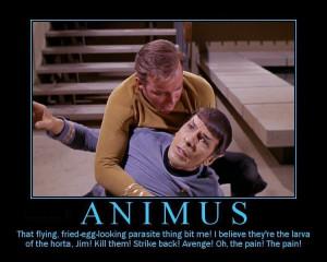 James T. Kirk Kirk&Spock - Inspirational Posters