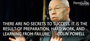 Colin Powell Quotes Secret To Success