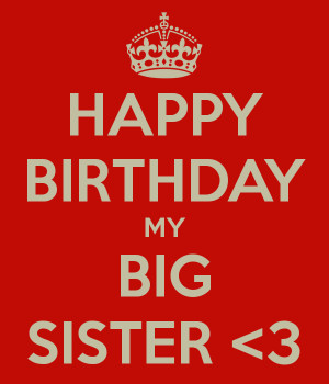 happy birthday big sister images
