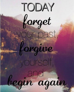 Forget, Forgive, Let go