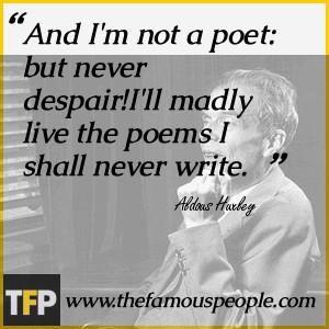 , Surrey, England, Aldous Huxley was the third son of Leonard Huxley ...