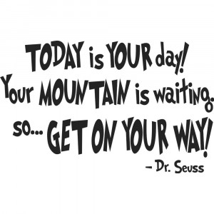 2014 New Arrival Top Fasion for Wall Characters Dr. Seuss - Today Is ...