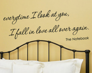 The Notebook Wall Decals Ebay