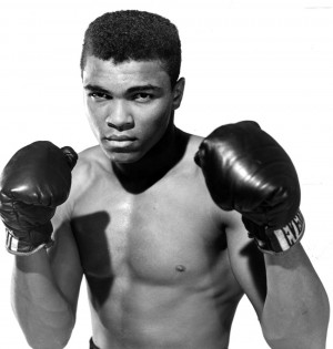 Muhammad Ali: Professional boxer Muhammad Ali is known for his cocky ...