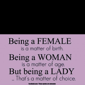 stay classy, ladies.