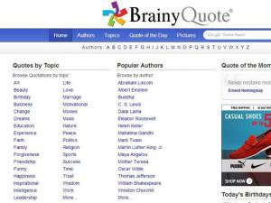 Brainy Quote