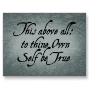 Shakespeare inspiring quote.