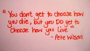 Life quotes pretty picture and quote by pete wilson