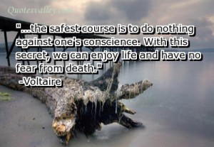 We Can Enjoy Life And Have Not Fear From Death
