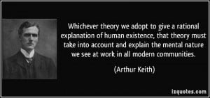 Whichever theory we adopt to give a rational explanation of human ...