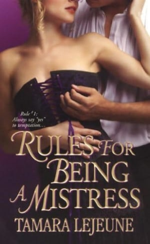 book cover of Rules for Being a Mistress