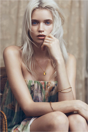 Abbey Lee Kershaw for Vogue China May 2012