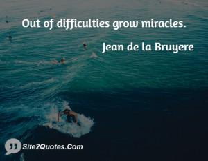 Inspirational Quotes - Jean de la Bruyere