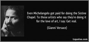More Gianni Versace Quotes