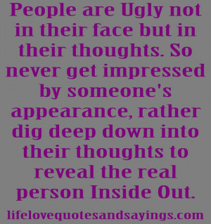 Rude People Quotes and Sayings | ... In Their Thoughts. | Love Quotes ...