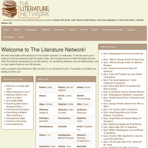 ... : Online classic literature, poems, and quotes. Essays & Summaries