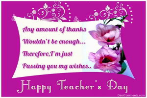 Happy Birthday Wishes Quotes Teacher Happy teacher's day 2014 sms