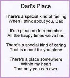 Loss Of Dad