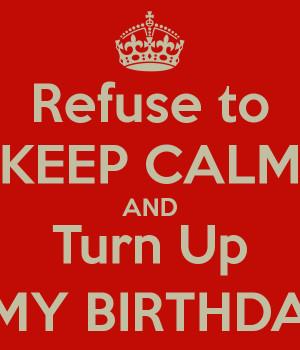 birthday turn up