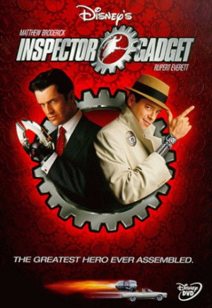 Inspector Gadget DVD Movie Cover