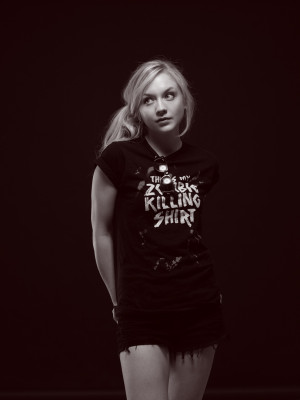 Emily Kinney Facial And...