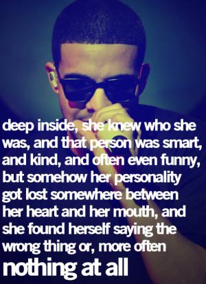 Drake Heartbreak Quotes Tumblr