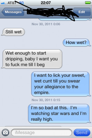 LOL funny star wars awesome text messages sexting punxtr •