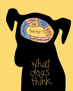 Do you ever wonder what dogs are thinking?