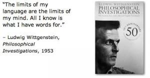 ... , Philosophical Investigations, 1953 (via Merriam-Webster.com