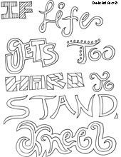 Religious quotes coloring pages