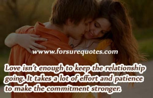 Make the commitment stronger picture quotes and sayings