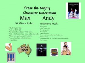 freak the mighty friendship essay