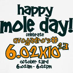Mole Day Cartoons