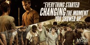 The Maze Runner Film Movie Quote