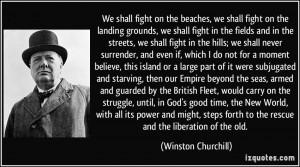 More Winston Churchill Quotes