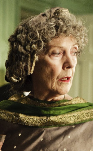 ... eileen atkins characters maud still of eileen atkins in upstairs