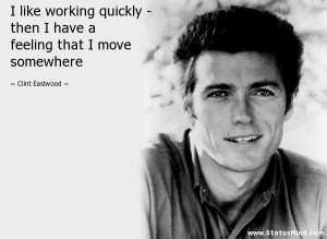 Clint Eastwood Quotes Clint eastwood quotes