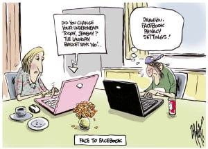 Funny Facebook Cartoons - 1
