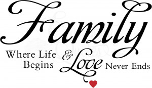 where life begins wall quote decal item familylove14 $ 21 95 size 13in ...
