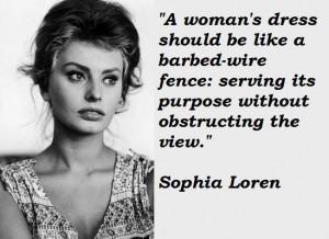 Sophia loren famous quotes 4