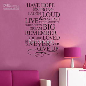 Quotes about giving up hope