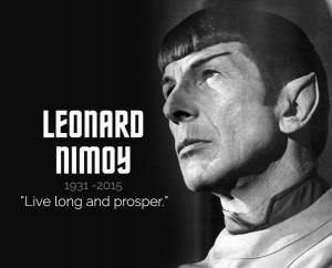 RIP Mr.Spock -RIP Mr.Spock