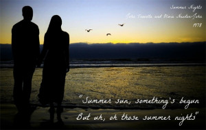 Songs of Summertime in Picture Quotes