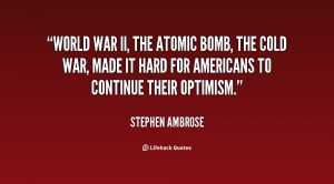 Quotes About World War 2